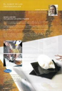Pastel líquido de cacahuete con helado de wisky (pag 1)
