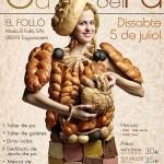 Albert Iglesias diseñando vestidos para la 6 ª fiesta del pan